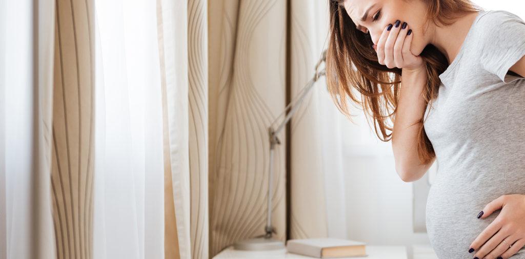 Tipps zu Übelkeit und Erbrechen in der Schwangerschaft.
